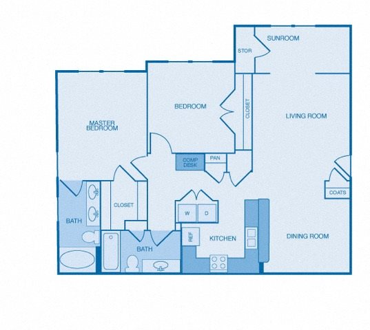 Vanderbilt Apartments Omaha: Floor Plans Of The Reserve At Maryville In Maryville, TN