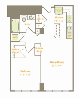 One Bedroom (1R, 1J-A)