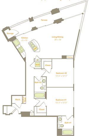 Two Bedroom (2N)