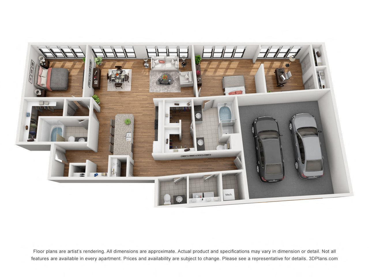 Penthouse Floor Plan 8