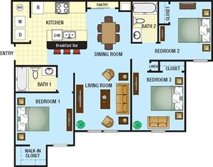 The Loop Apartments for rent in Kissimmee, FL. Make this community your new home or visit other Concord Rents communities at ConcordRents.com. Three bedroom