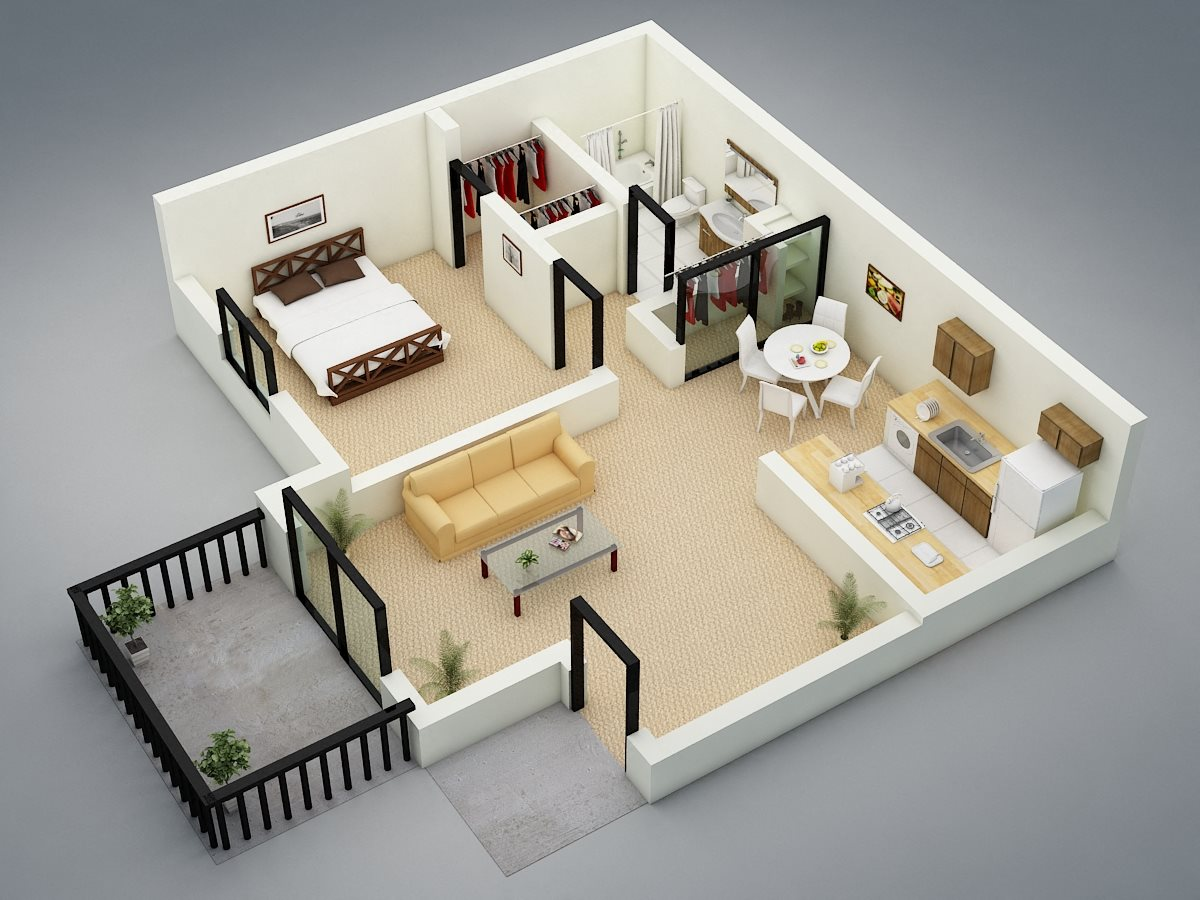 Bedford Floor Plan 1