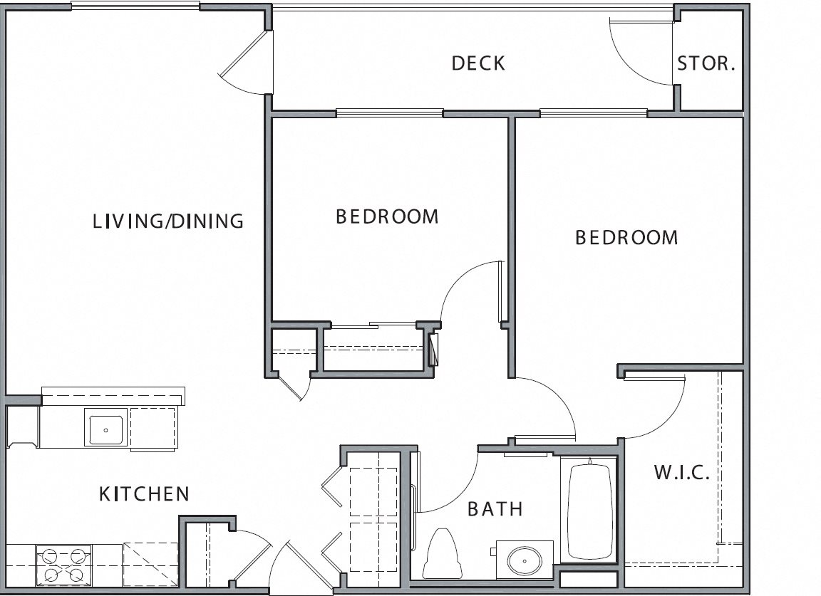 2B Floor Plan 4