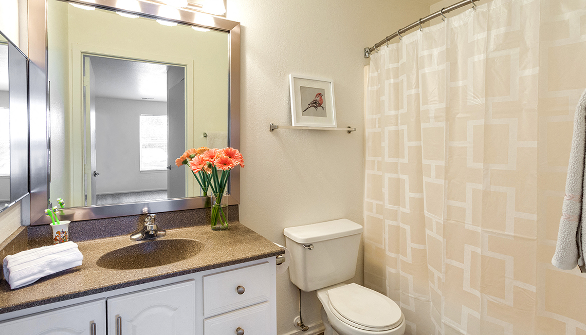 Updated Bathrooms at Waldon Lakes Apartments, Orion, 48359