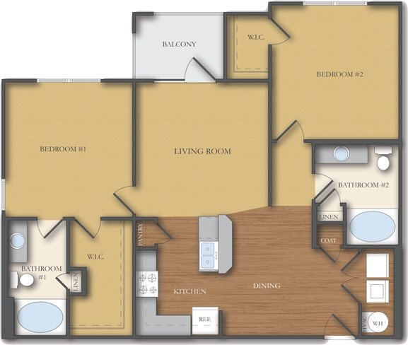 The Greene Floor Plan 4
