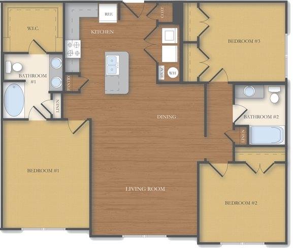 The Oxford Floor Plan 8