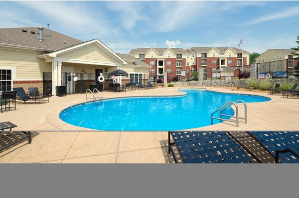 Swimming Pool - Devonshire Apartments in Greenwood, IN