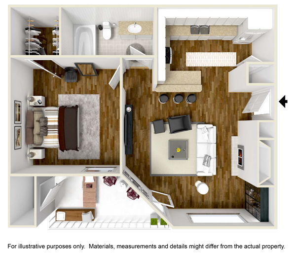 Seville Floor Plan 1