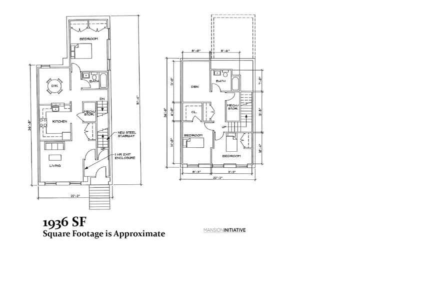 3 Bedroom Floor Plan - With Den