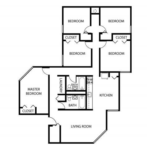 5 Bed Low Rise Floor Plan 6