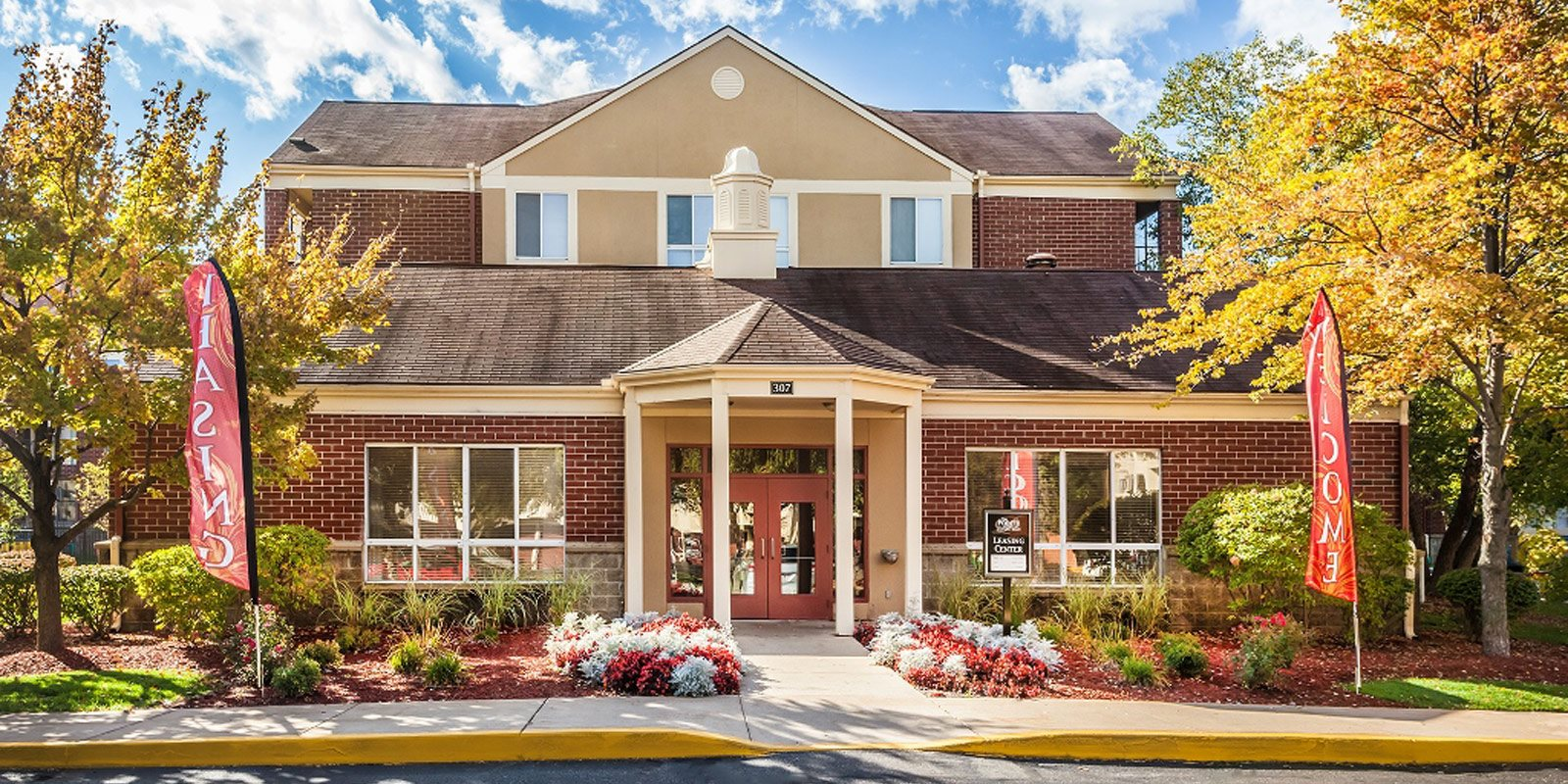 Beautiful Construction at The Pointe at St. Joseph Apartments, South Bend, IN, 46617
