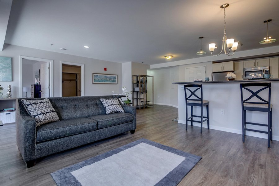 Open Floor Plan at Carisbrooke at Manchester, Manchester, NH