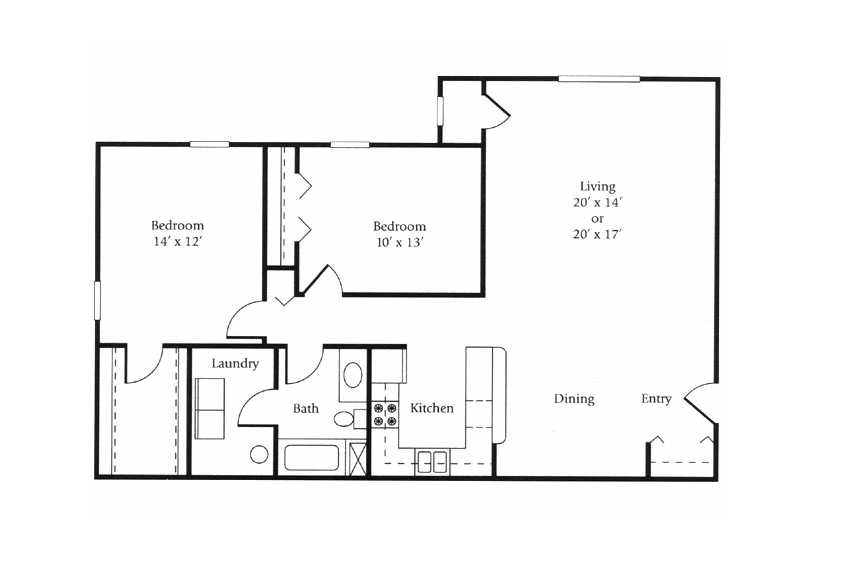 The Clipper Floor Plan 1