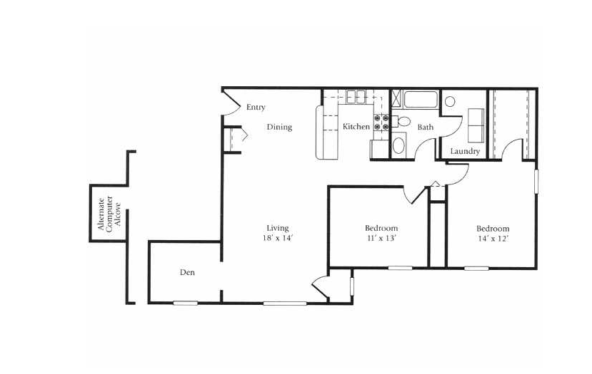 The Regatta Floor Plan 2