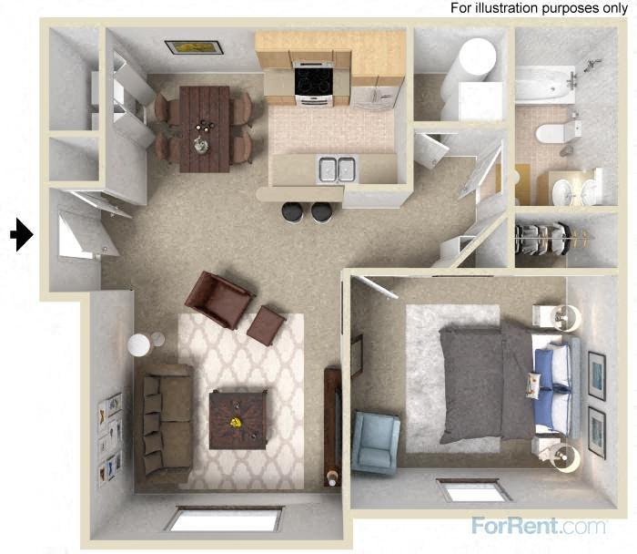 The Utah Floor Plan 1