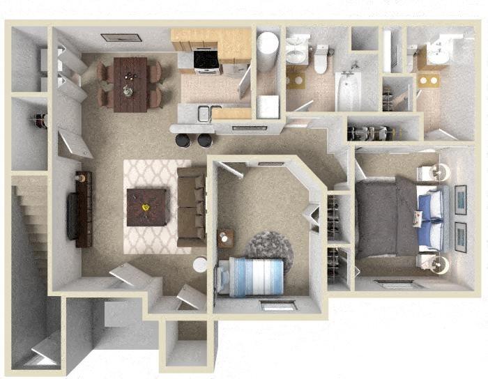 The Montana Floor Plan 5