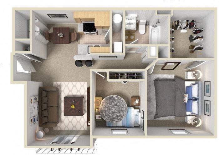 The Arizona Floor Plan 4