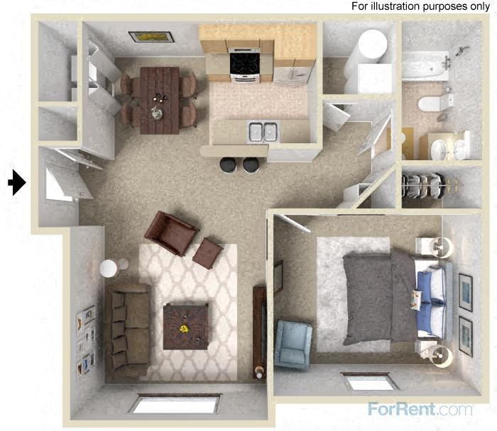 The Ash Floor Plan 1