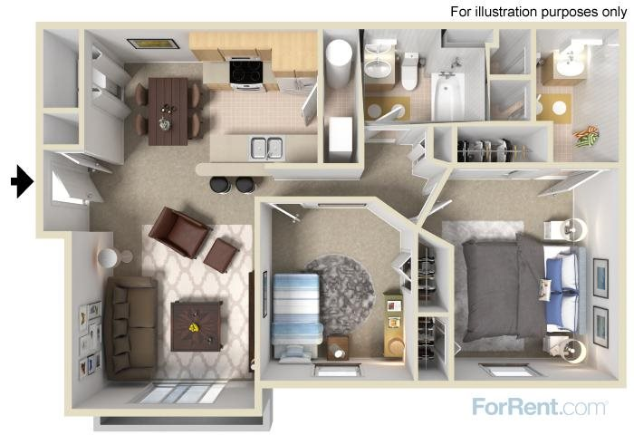The Dogwood Floor Plan 3