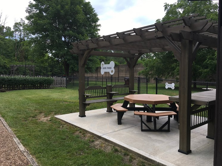 Bark Park at Indian Creek Apartments, Cincinnati, Ohio
