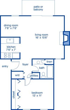 One Bedroom III