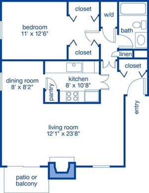 One Bedroom VII