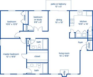 Three Bedroom I