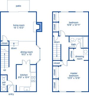 Two Bedroom Townhome IV
