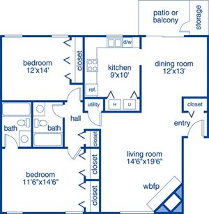 Two Bedroom V