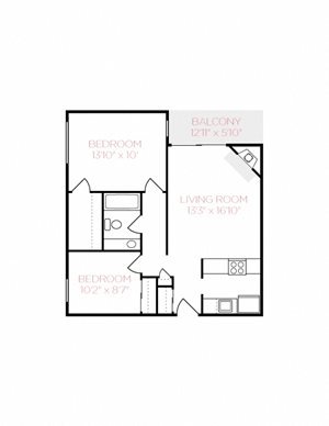 The Nest - Two Bedroom