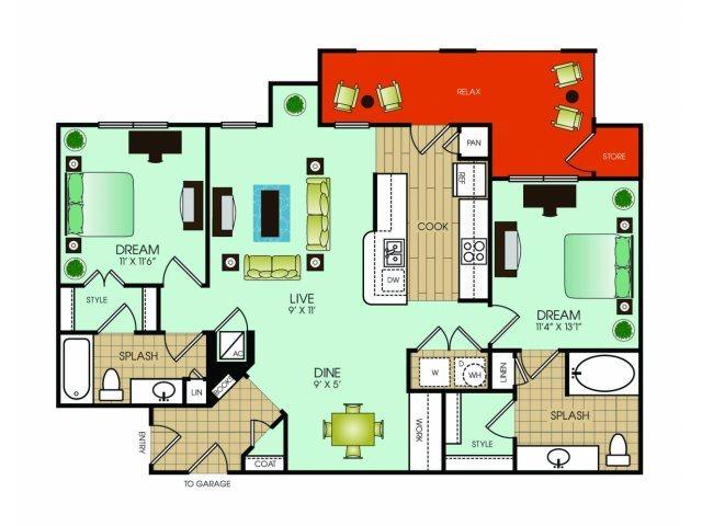 B6 Floor Plan 12
