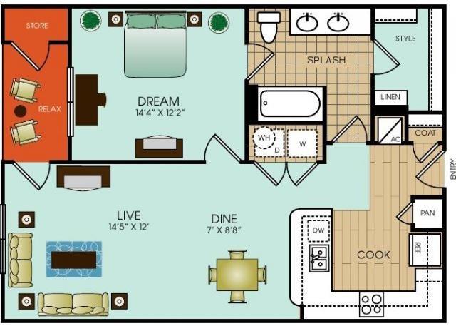A13 Floor Plan 25