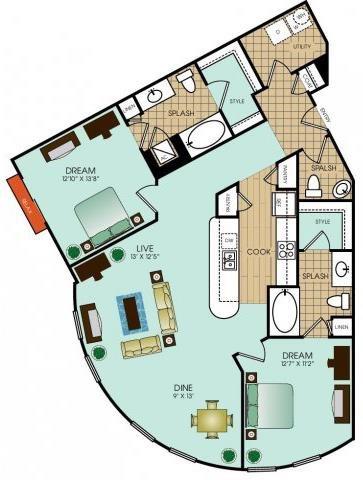 B14 Floor Plan 45
