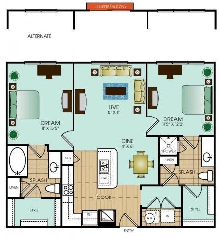 B3 Floor Plan 34