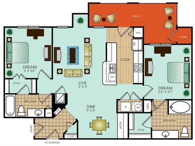 B6 Floor Plan 37