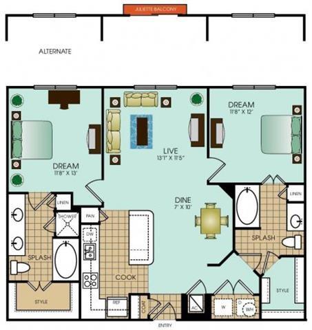 B9 Floor Plan 40