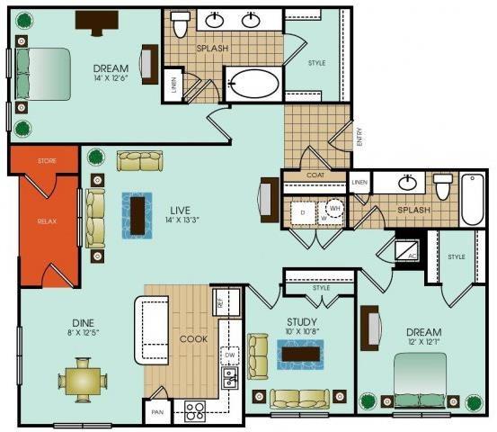 C2 Floor Plan 48