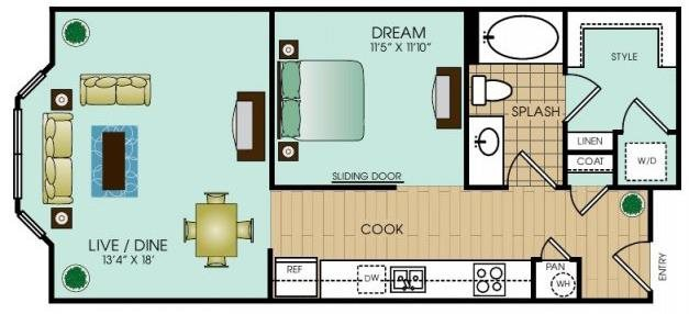 Studio 3 Floor Plan 15