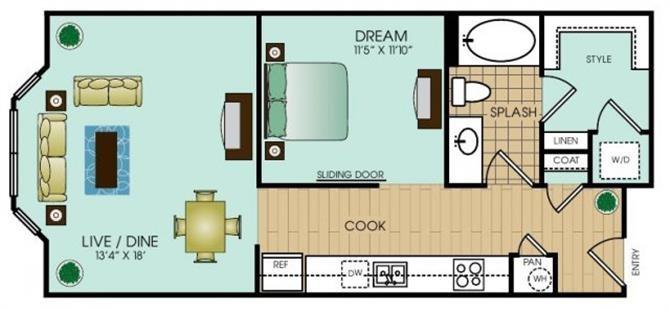 Studio 4 Floor Plan 16