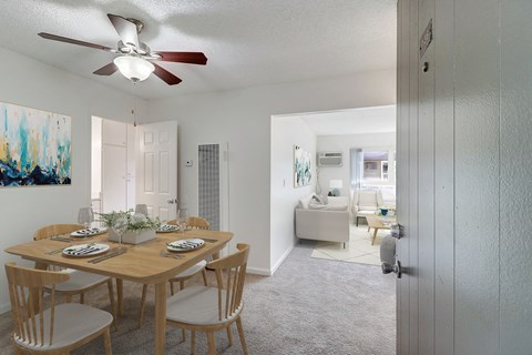 Dining Area of a 1 bedroom at Nutwood East Apartments