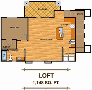 One Bedroom | Loft