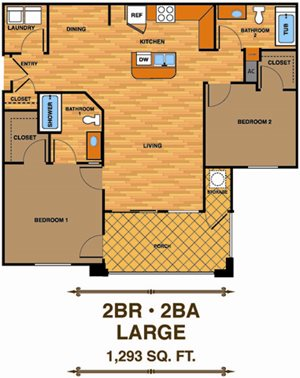 2C | Two Bedroom