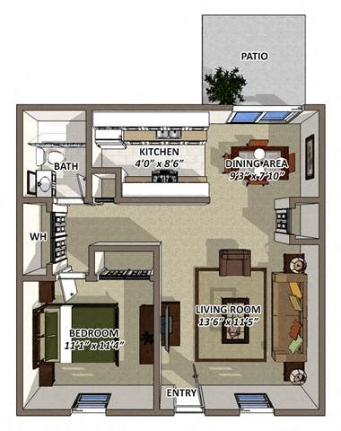 The Berkshire Floor Plan 1