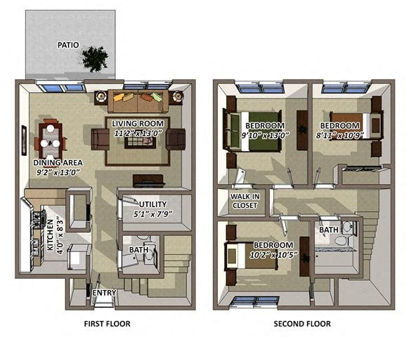 The Churchill Floor Plan 4