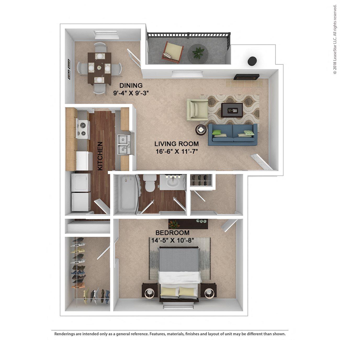 The Ashe Floor Plan 1
