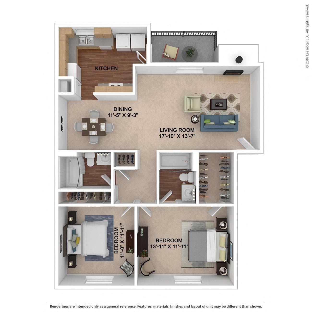The Burke Floor Plan 2
