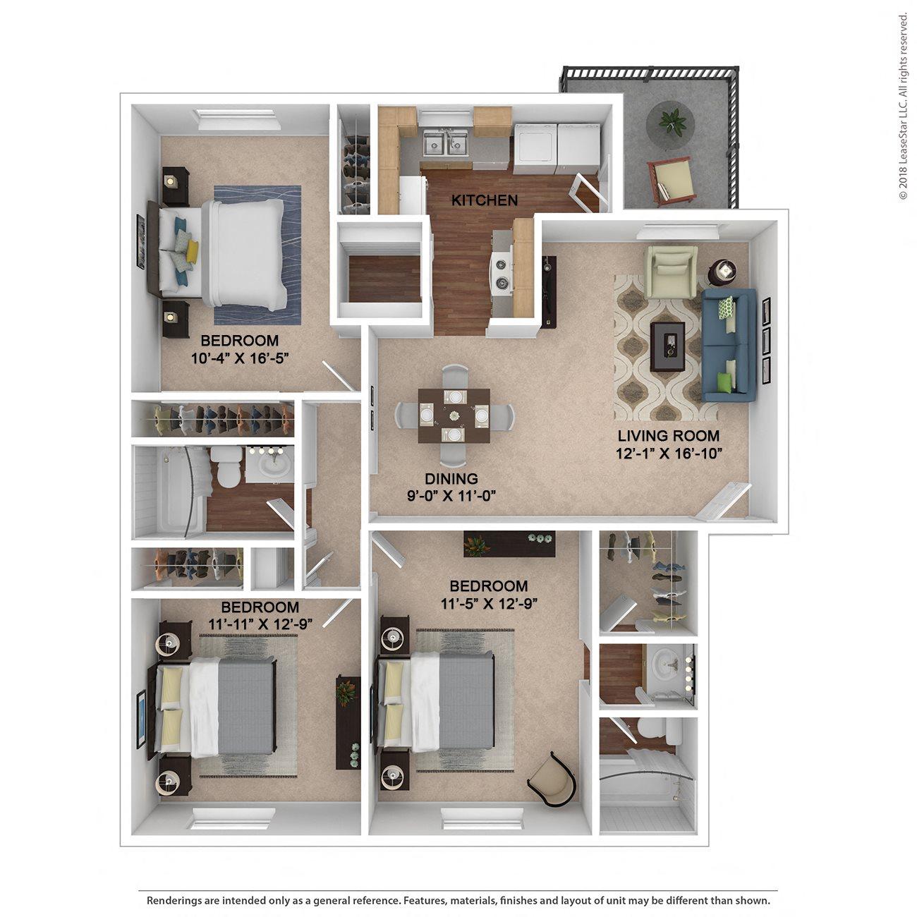 The Franklin Floor Plan 4