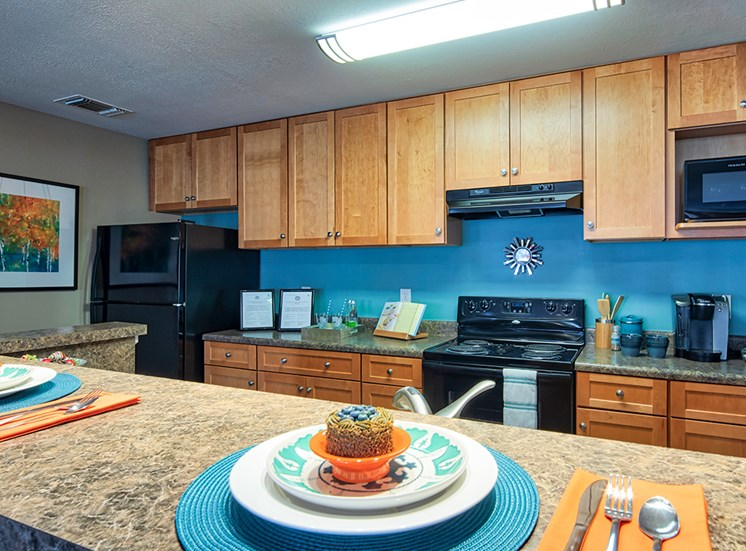 Model_Kitchen_Smiths_Landing_Apartments