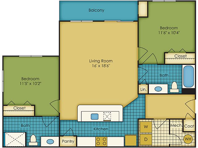 Mountain floor plan.