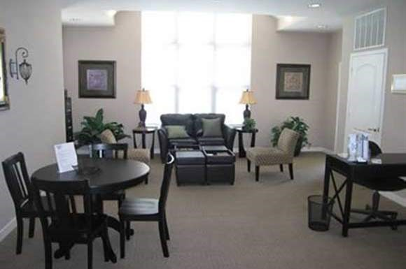 Living Room at Madison Glen Apartments